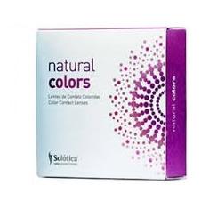 עדשות צבעוניות שנתיות Solotica Natural Colors ללא מספר