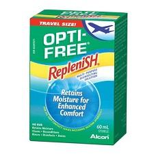 תמיסת נסיעות אופטי ריפלניש - (Opti Free Replenish)